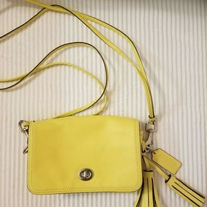 Coach Crossbody leather purse0